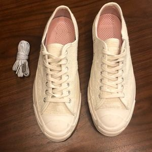 Converse X Bunney Jack Purcell shoes lightly worn